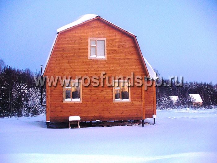 фундамент-зимой