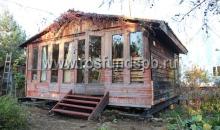 Подъем дома в садоводстве Колосково-2