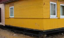 Отчет по подъему дома в п. Михайловское